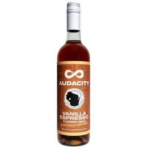 Vodka – Vanilla Espresso Audacity Vodka Bottle