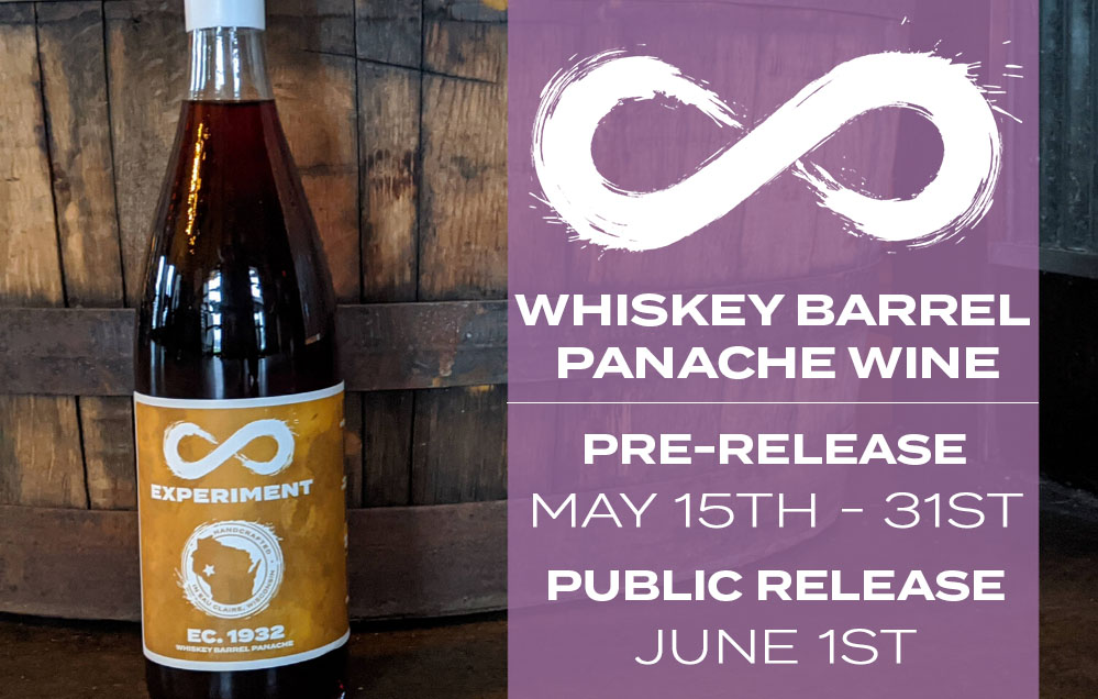 Whiskey Barrel Panache Wine Release