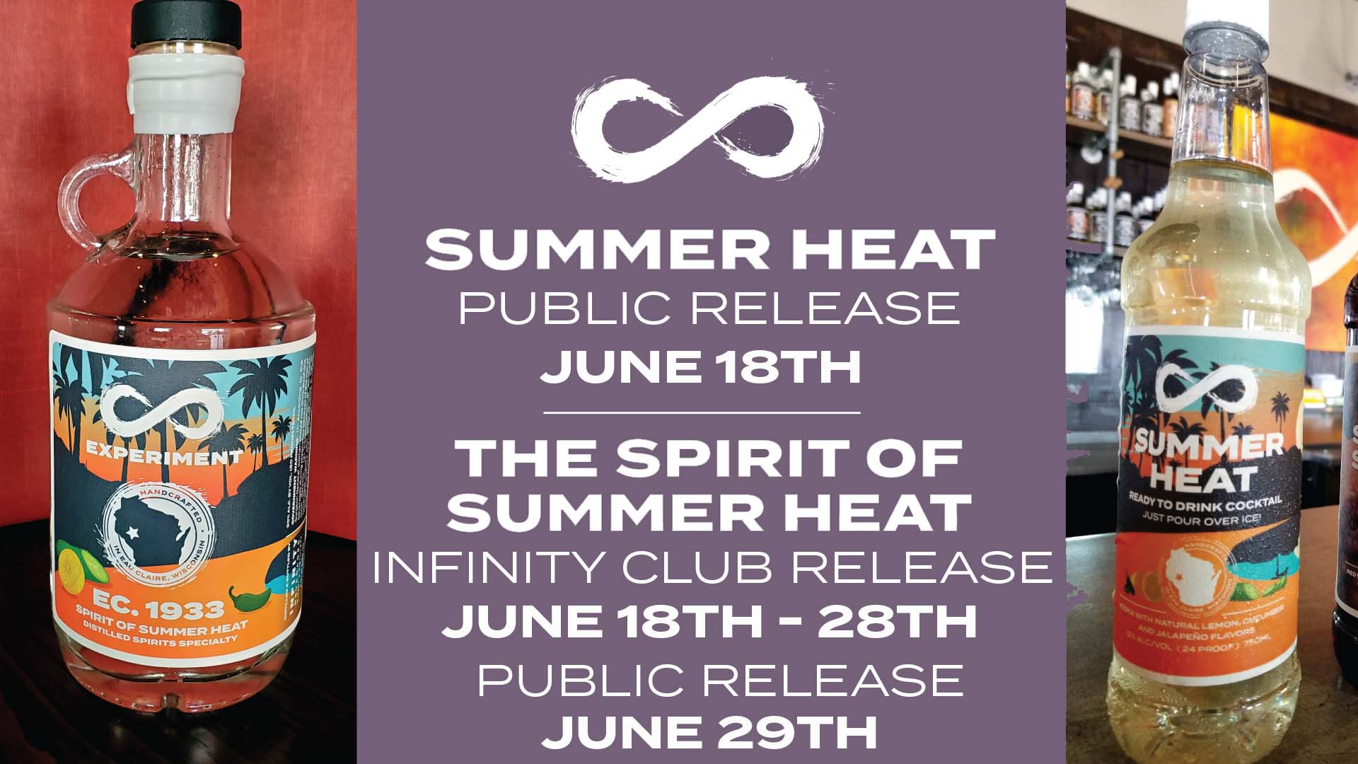 SUMMER HEAT AND SPIRIT OF SUMMER HEAT RELEASE