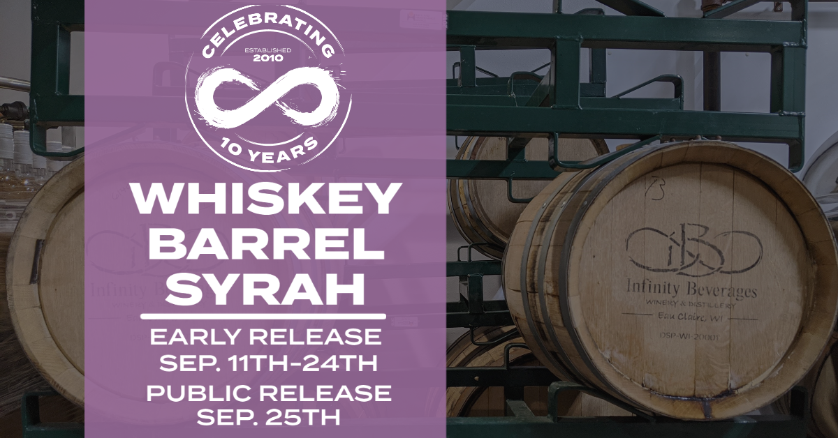 WHISKEY BARREL SYRAH RELEASE