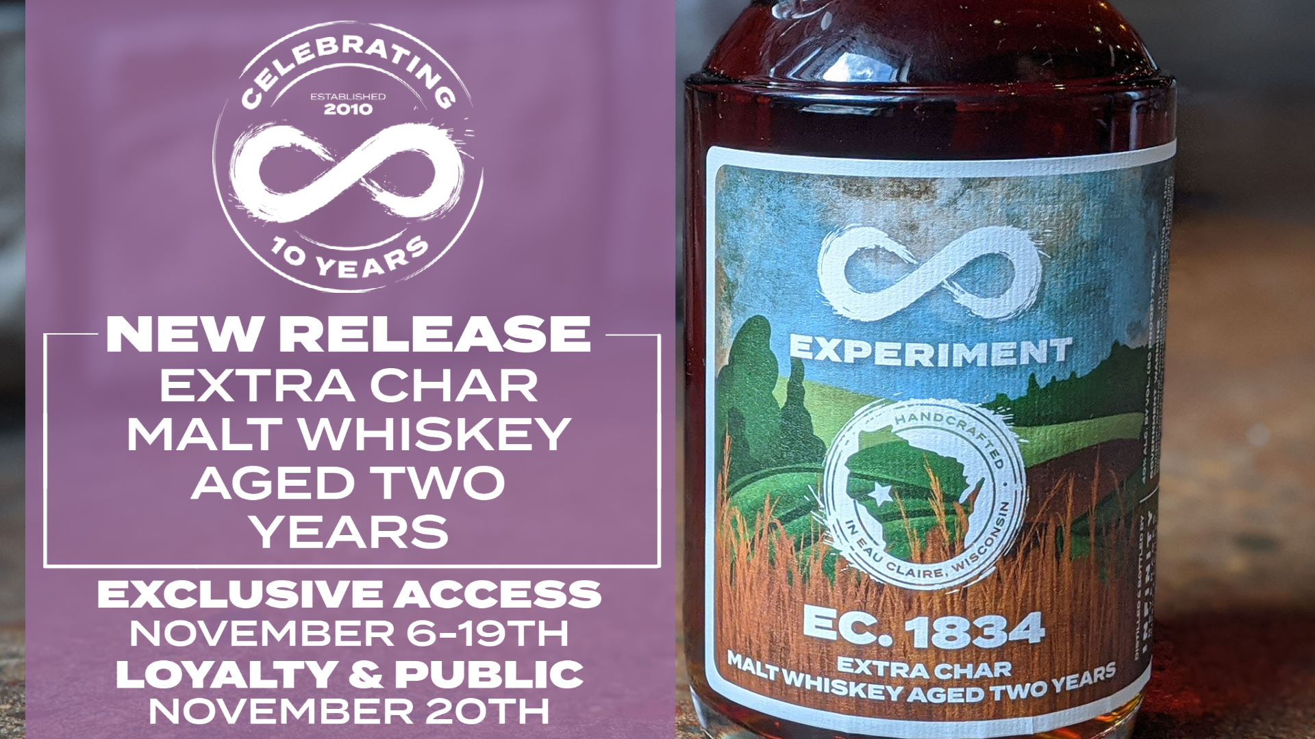 EXTRA CHAR 2 YEAR AGED SINGLE MALT WHISKEY
