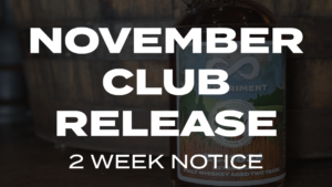 NOVEMBER CLUB RELEASE 2 WEEK NOTICE