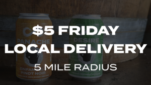 $5 FRIDAY DELIVERY