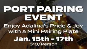 Port Pairing Event