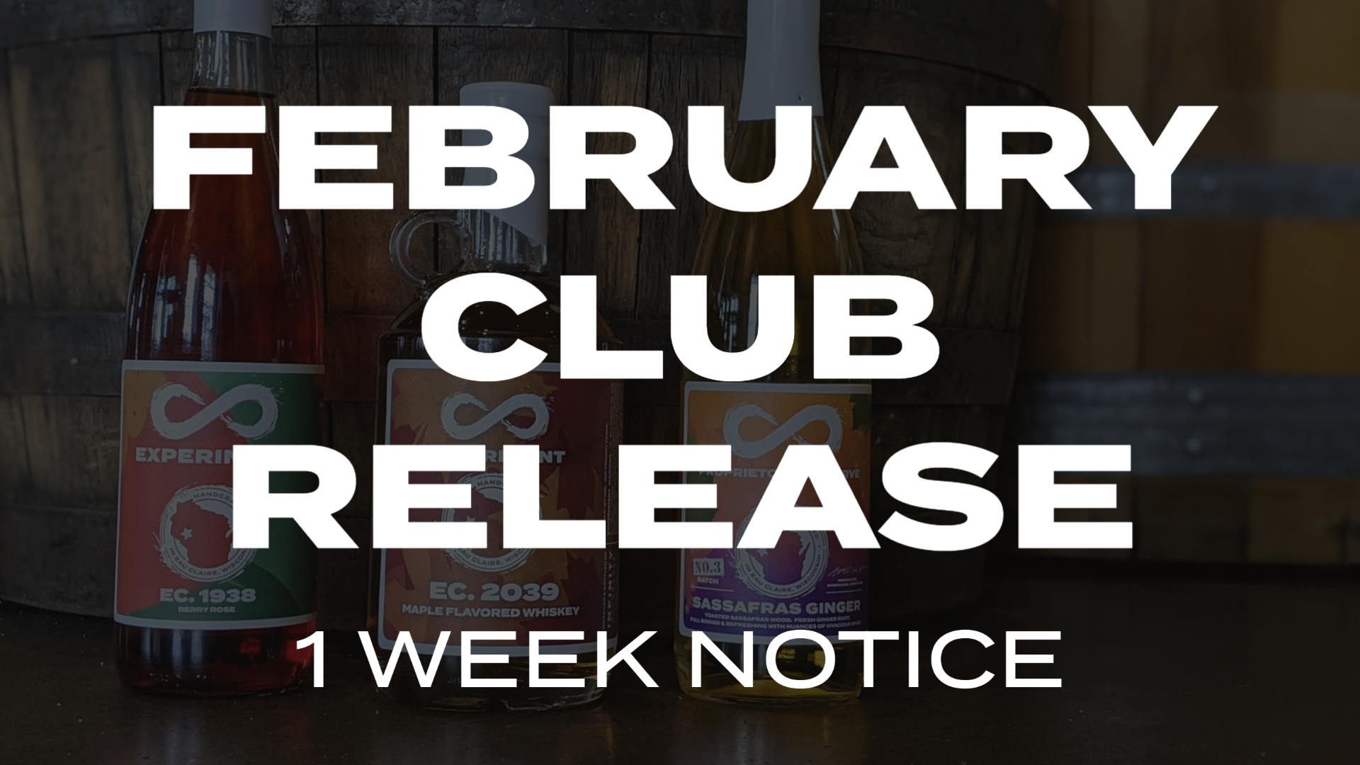 February Club Release 1 Week Notice