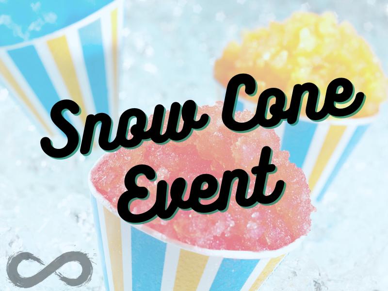 Wine and Snowie Snow Cones
